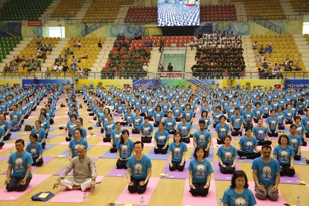 Fourth International Day of Yoga comes to Gia Lai hinh anh 1
