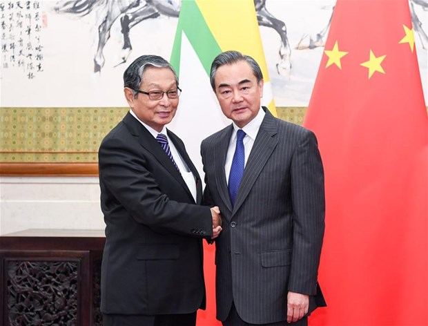 China, Myanmar agree to maintain border stability hinh anh 1