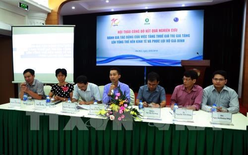 VAT increase not promote economic growth: report hinh anh 1