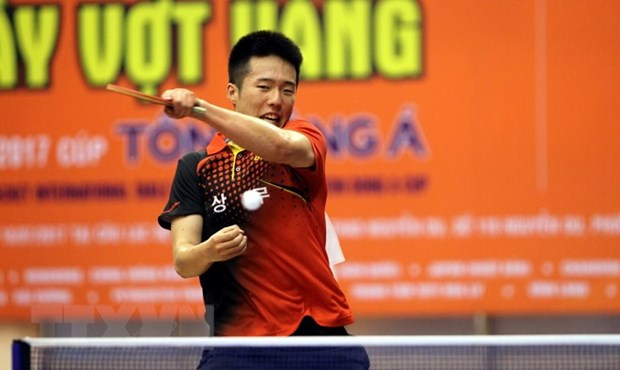 Open Golden Racket Int'l Table Tennis Tournament 2018 set for early July hinh anh 1