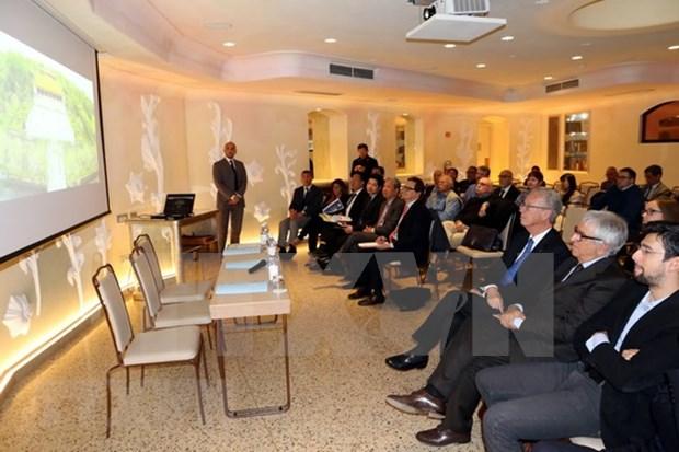 Vietnamese, Italian localities boost economic cooperation hinh anh 1