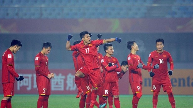 Football: Vietnam in No 3 seed group of ASIAD hinh anh 1