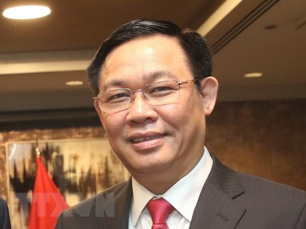 Deputy PM Vuong Dinh Hue wraps up US visit hinh anh 1