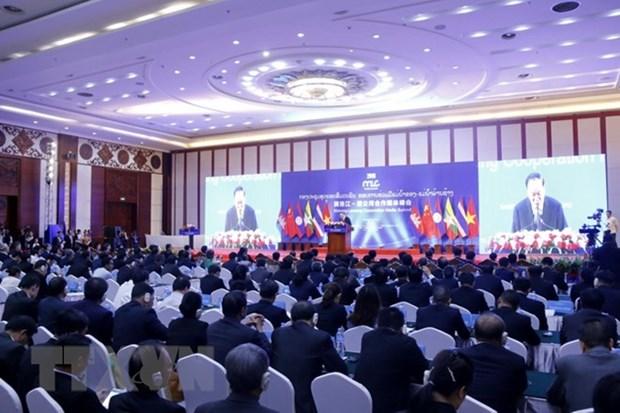 Mekong-Lancang cooperation media summit opens in Laos hinh anh 1
