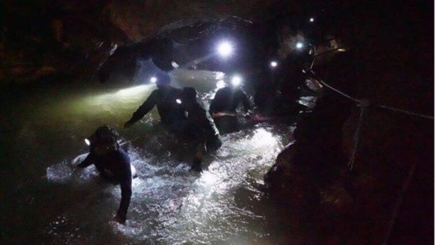 Thailand: Rescuers striving to find missing youths before rain returns hinh anh 1