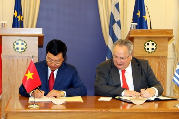 Greek President backs all-round cooperation with Vietnam hinh anh 3
