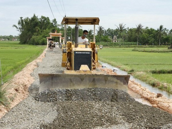 More than one-third of communes become new-style rural areas hinh anh 1