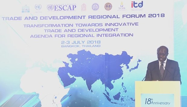 Trade and Development Regional Forum 2018 takes place in Bangkok hinh anh 1