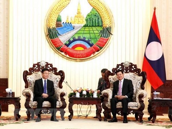 Vietnam-Laos judicial ties help protect shared border: Lao PM hinh anh 1