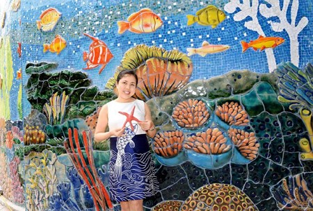 Vietnamese painter wins int'l design silver hinh anh 1