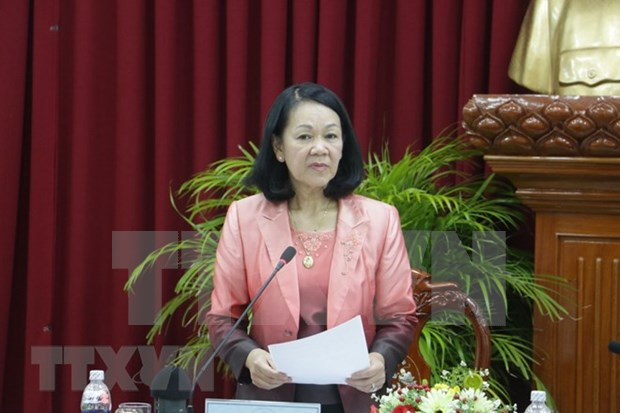 Trade unions asked to work for better livelihoods for labourers hinh anh 1