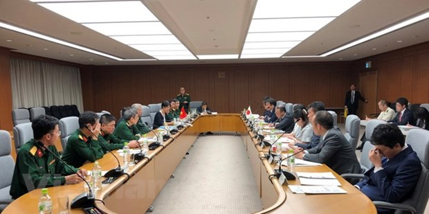 Vietnam, Japan hold 6th defence policy dialogue hinh anh 1