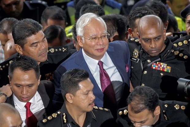 Former Malaysian PM's trial to begin in Feb 2019 hinh anh 1