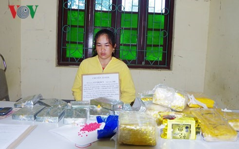 Large quantities of drugs seized in Dien Bien, Nghe An hinh anh 1