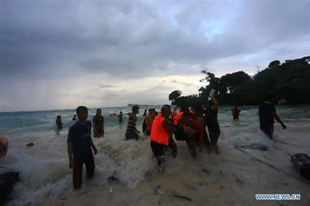 At least 29 dead as boat capsizes in Indonesia hinh anh 1