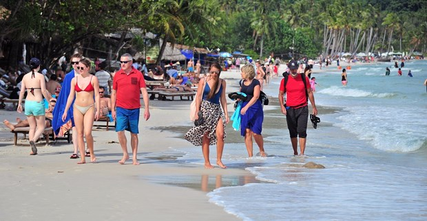 Over 93 percent of foreigners satisfied when touring Vietnam hinh anh 1