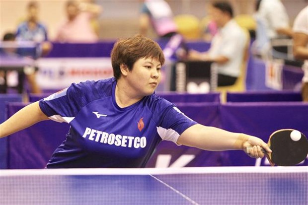 Open Golden Racket Int'l Table Tennis Tournament 2018 kicks off hinh anh 1