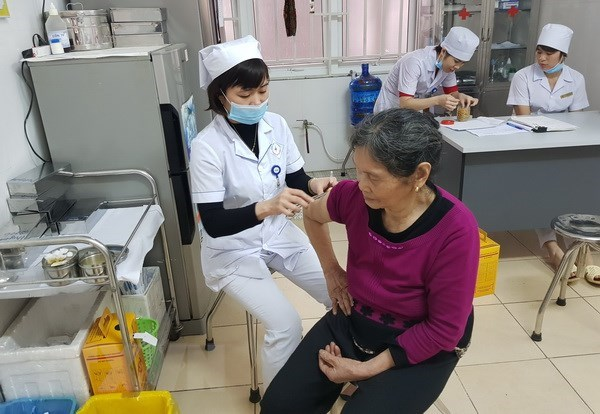 HCM City's residents rush to get flu vaccine hinh anh 1