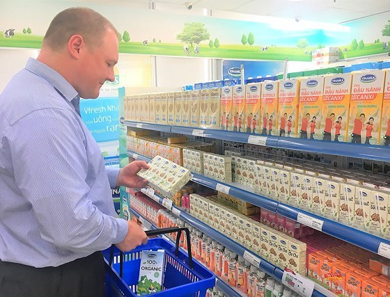 Vinamilk's products present in 43 countries hinh anh 1