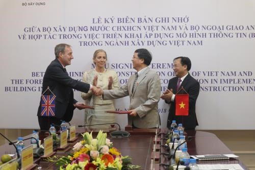 Vietnam, UK cooperate in building information model development hinh anh 1