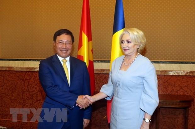 Deputy Prime Minister Pham Binh Minh visits Romania hinh anh 2