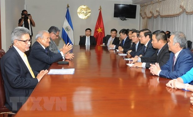 Vietnamese Party delegation visits El Salvador hinh anh 1