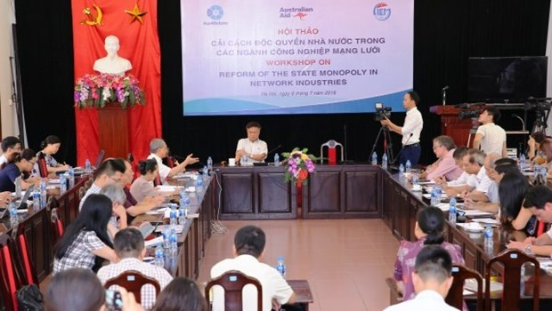 Hanoi: Seminar on reforming State monopoly in network industries hinh anh 1