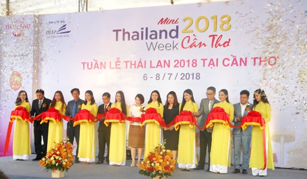 Mini Thailand Week 2018 opens in Can Tho hinh anh 1