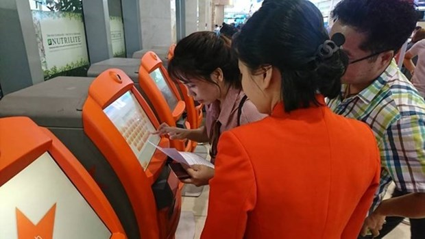 More passengers use online check-in service: Jetstar Pacific hinh anh 1