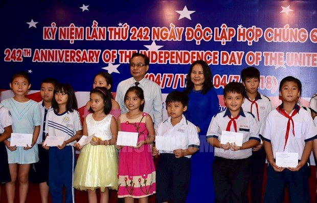 US Independence Day observed in HCM City hinh anh 1