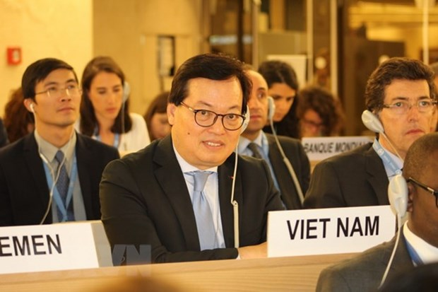 Vietnam active in discussions at UNHRC's 38th session hinh anh 1