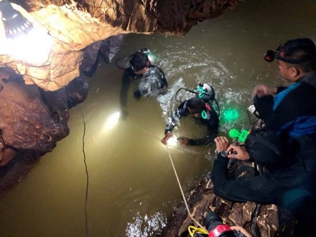 Thailand: Official admits big challenges in cave rescue operation hinh anh 1