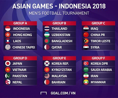 Vietnam Olympic team to face Japan in Asian Games hinh anh 1