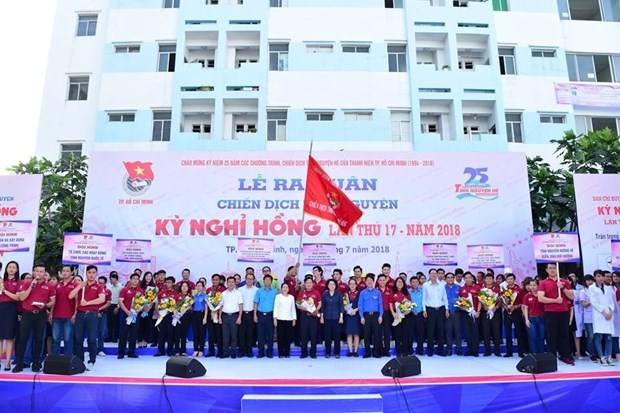 Voluntary campaign launched in Ho Chi Minh City hinh anh 1