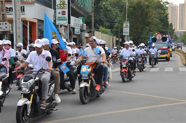 Cambodia launches campaign for general election hinh anh 1