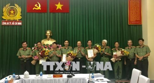 HCM City police complimented for anti-terrorism efforts hinh anh 1