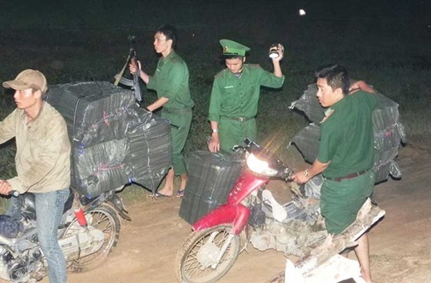 Long An province cracks down on smugglers hinh anh 1