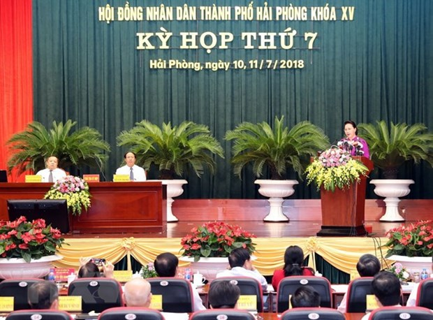 Hai Phong on track to become country's third largest city hinh anh 1