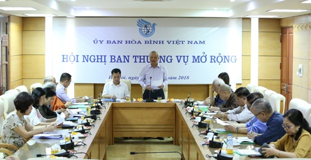 Vietnam looks for strengthened friendship with int'l peace organisations hinh anh 1