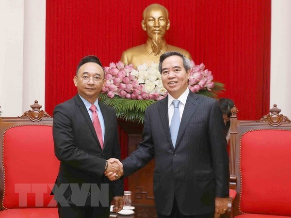 Official appreciates DELL EMC's cooperation in e-government building hinh anh 1