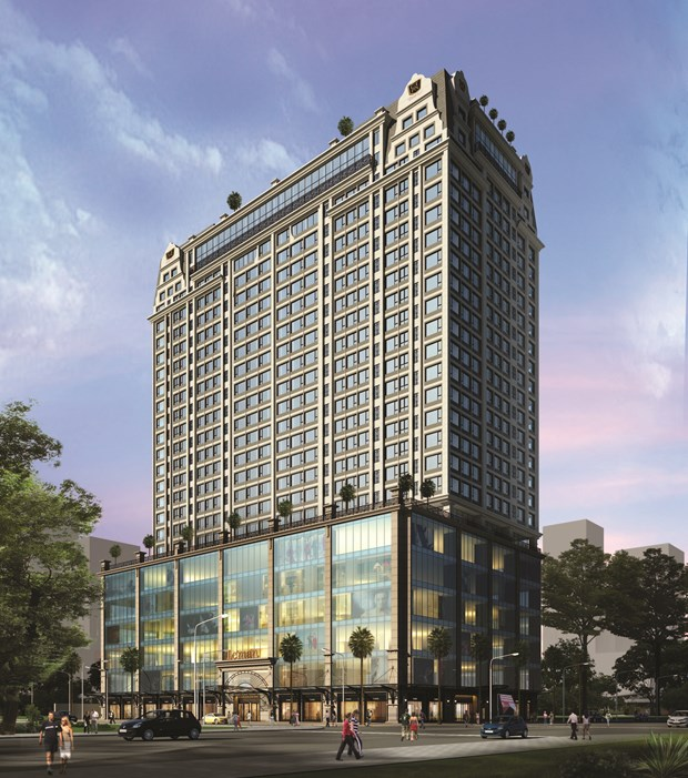 Leman Luxury Office offers 5-star facilities to white-collar workers hinh anh 1