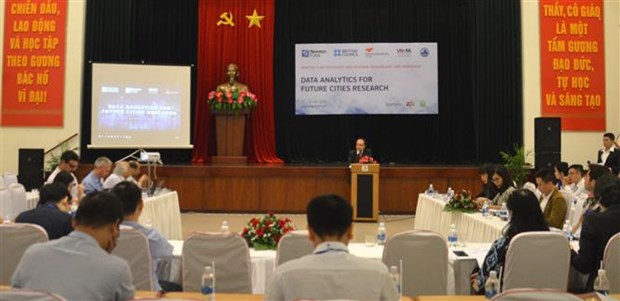 Da Nang workshop discusses data analytics for future cities research hinh anh 1