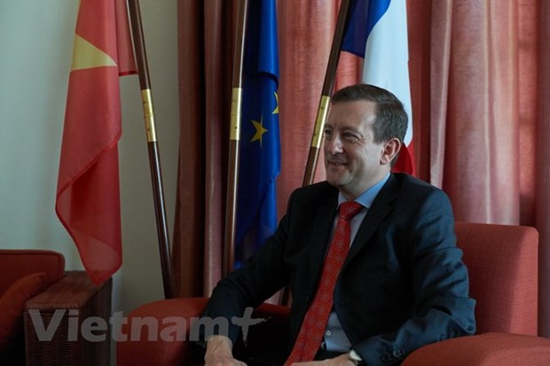 French ambassador highlights growing Vietnam-France ties hinh anh 1