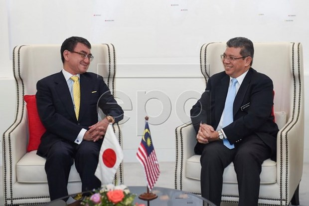 Malaysia, Japan foster bilateral relations hinh anh 1