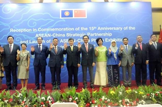 ASEAN, China mark 15th anniversary of strategic partnership hinh anh 1