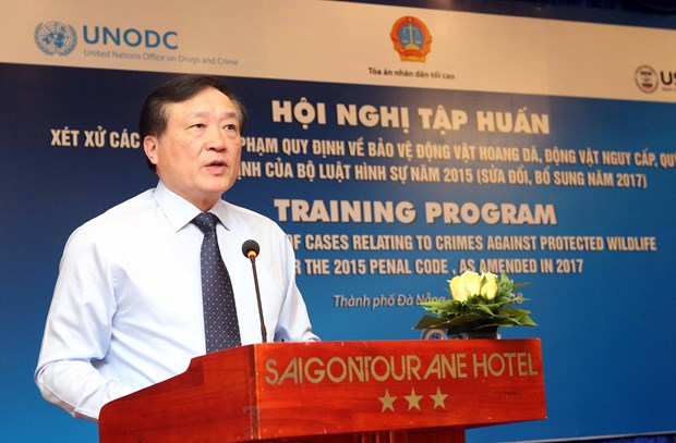 USAID helps improve judgment of wildlife-related cases in Vietnam hinh anh 1