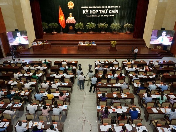 HCM City People's Council approves 21 resolutions hinh anh 1