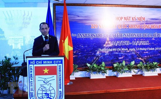 National Day of France marked in Ho Chi Minh City hinh anh 1