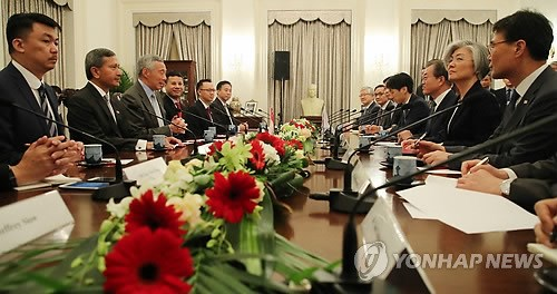 RoK, Singapore agree to push bilateral cooperation hinh anh 1