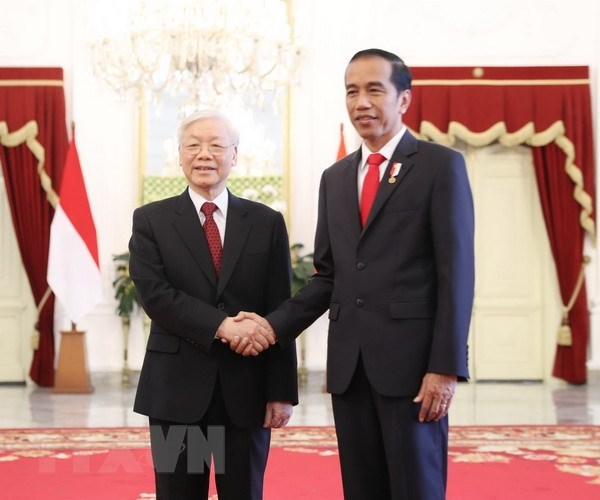 Vietnam, Indonesia eye stronger strategic partnership hinh anh 1